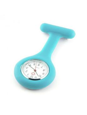 Montre Infirmière Silicone Turquoise