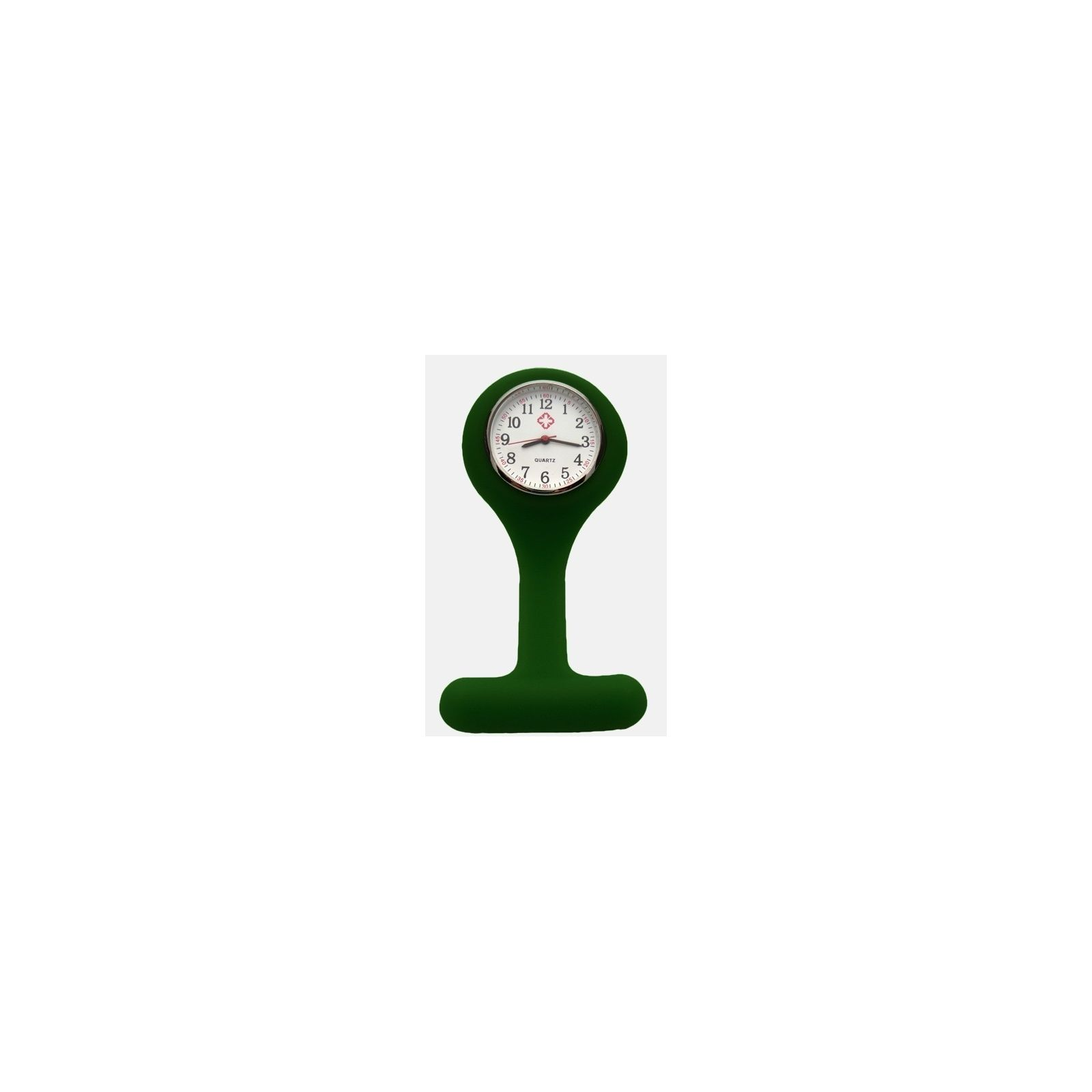 Montre Infirmière Silicone Vert chirurgien