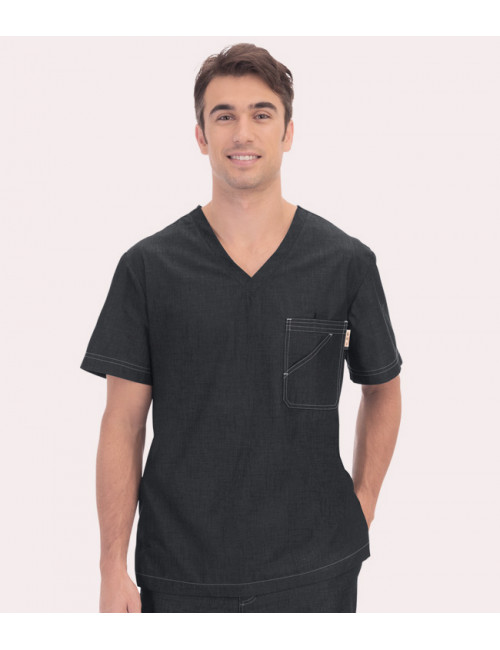 "Medical Gown Man Koi ""Earl"", collection Koi Denim (656-)"