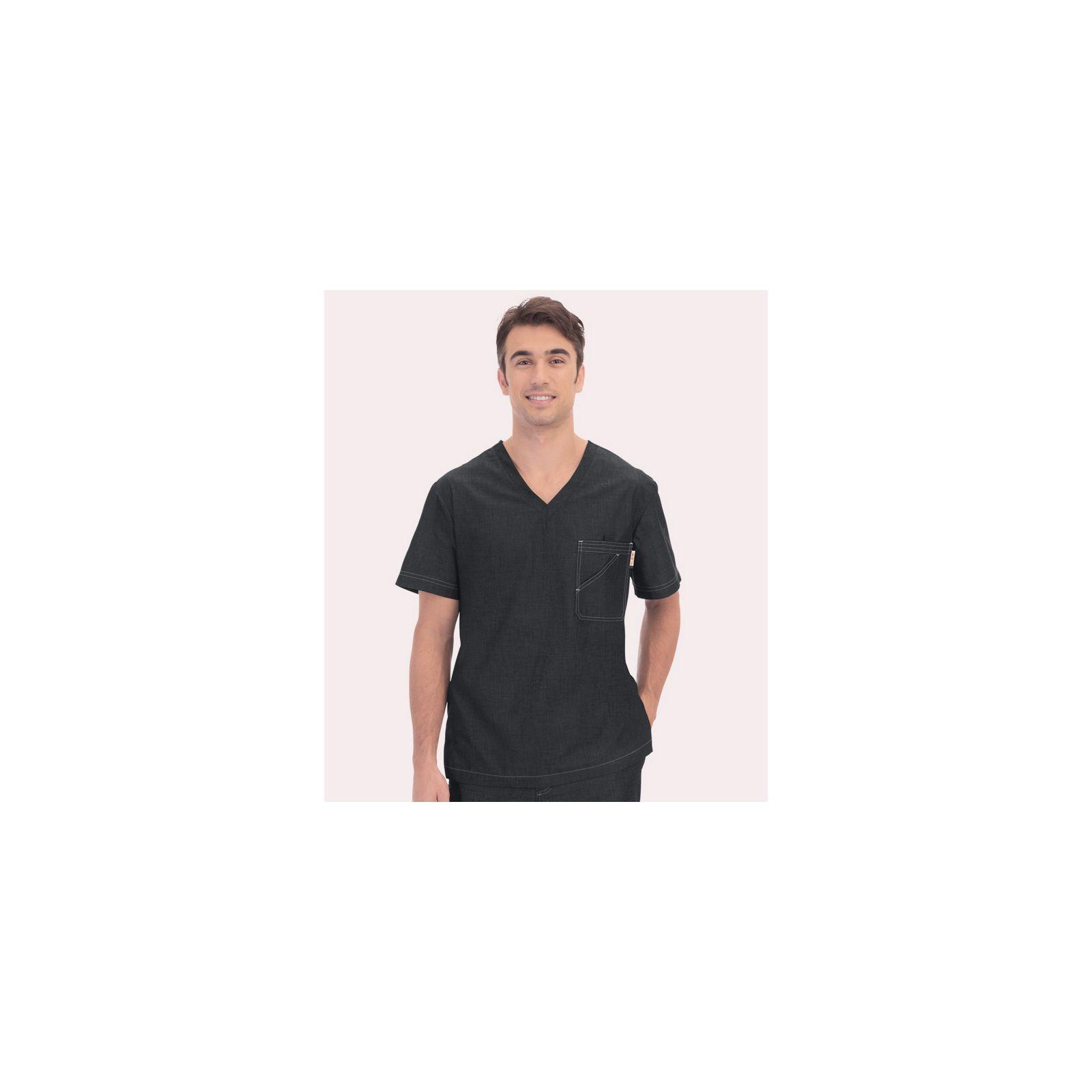 Blouse médicale Homme Koi Denim noir