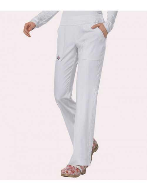Pantalon médicale Femme Koi Blanc (727)