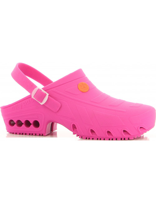 "Autoclavable Medical Clogs Fuchsia, ""Oxyclog"", Oxypas"