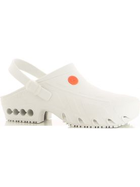 "Autoclavable Medical Clogs White, ""Oxyclog"", Oxypas"