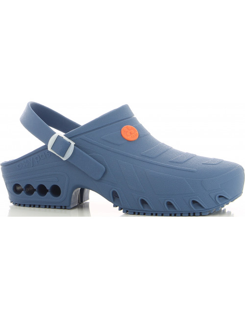 "Autoclavable Medical Sabot Navy Blue, ""Oxyclog"", Oxypas"