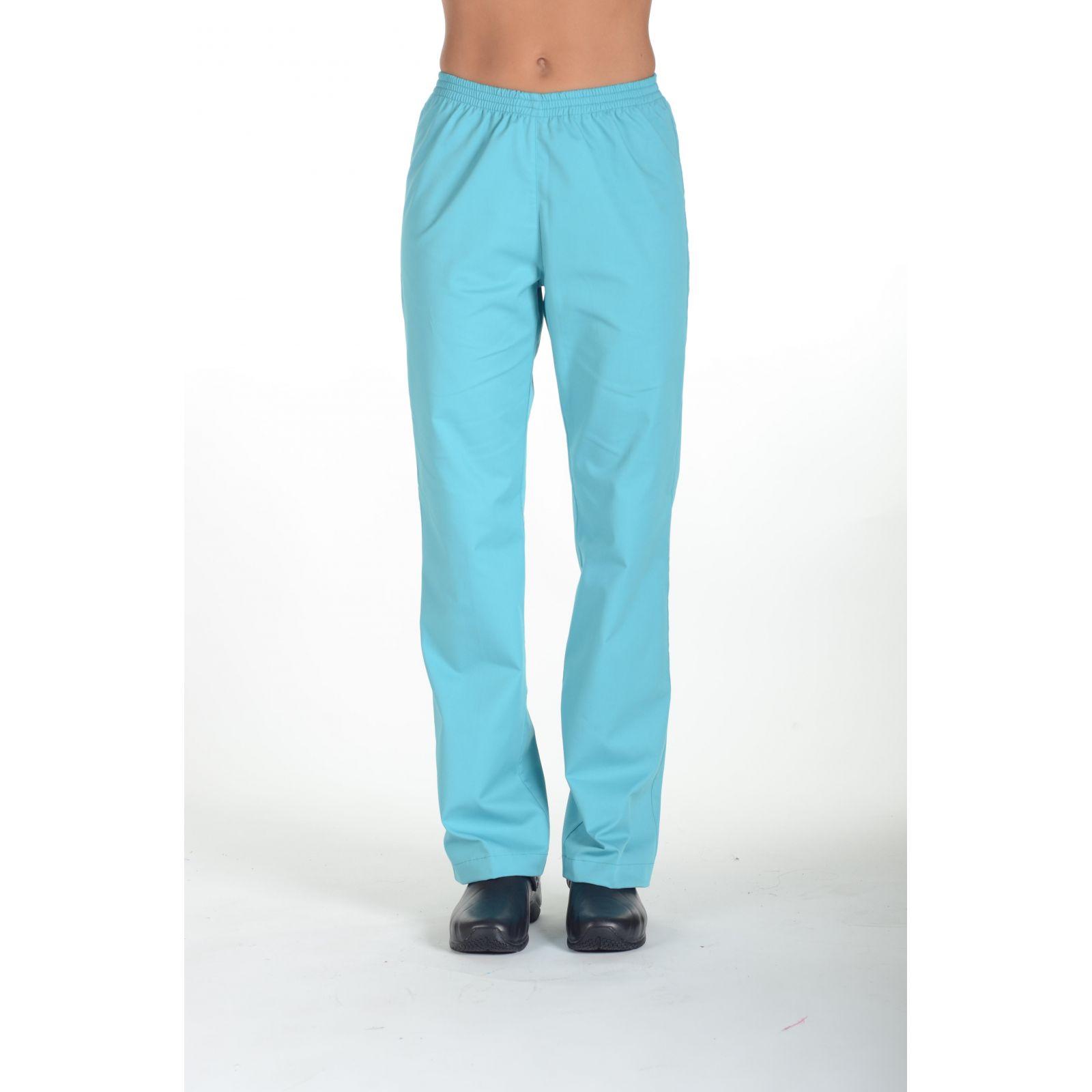 Pantalon Médical Blanc, Unisexe, Taille élastique, Camille Lavandie Laura eco respo