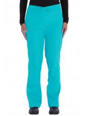 Ensemble médical Blouse et Pantalon, Unisexe, Dickies (VT526C) turquoise pantalon face