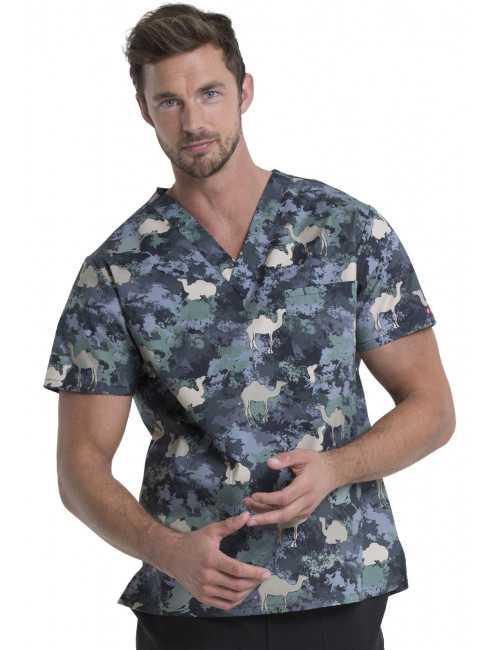 """Blouse médicale originale Homme """"Chameau"""", Dickies (DK725)"""