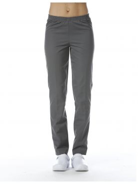 Grey Medical Pants, Unisex, Elastic waistband, Camille Lavandie (078VGR)