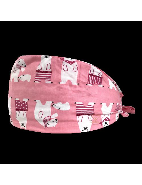 "Medical cap ""Pink Bears"" (209-12052)"