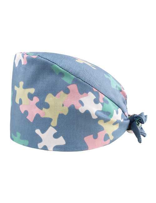 """Medical cap """"Puzzle"""" (209-22128)"""