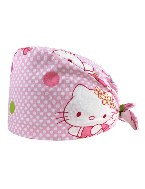 "Calot médical ""Hello Kitty Rose"" (209-12183) produit"