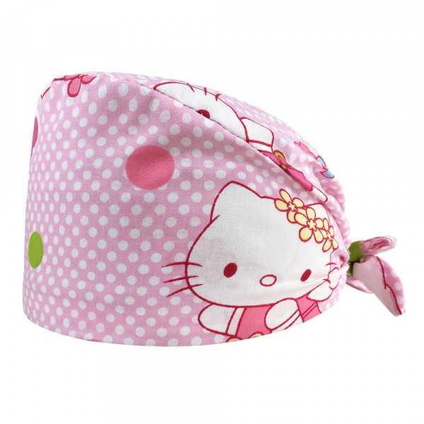 "Calot médical ""Hello Kitty Rose"" (209-12183) produit"