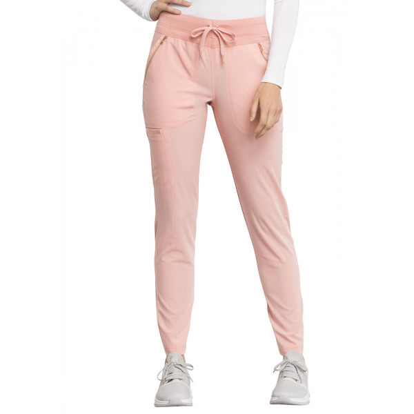 "Pantalon médical femme, Cherokee, collection ""Statement"" (CK055) peche face"