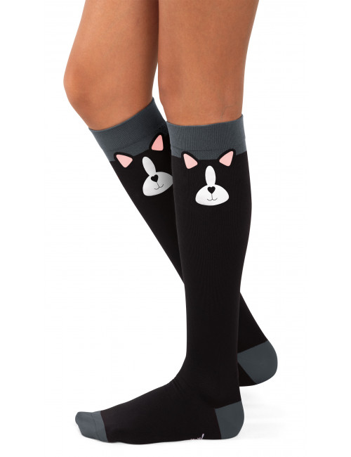 Chaussettes de compression Chat Koi (BA169-BDO) face
