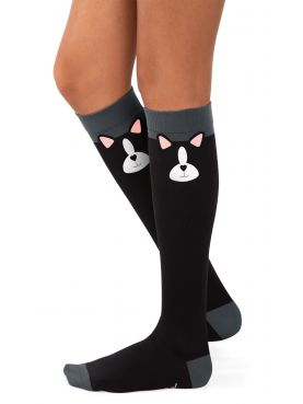 Compression Socks Blue Koi Pattern (A173-MON)