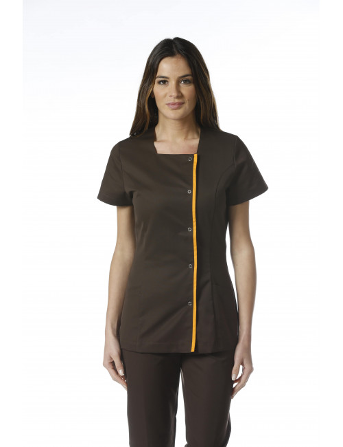 "Medical blouse Stretch pressure, woman, CMT collection ""Stretch"" (2605)"