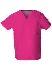 """Blouse médicale Femme, Dickies, poche cœur, Collection """"EDS signature"""" (83706), couleur fuchsia vue produit"""