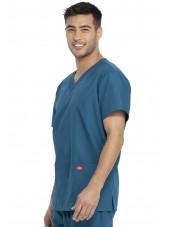 Ensemble médical Blouse et Pantalon, Unisexe, Dickies (DKP520C) vert caraibe blouse homme coté
