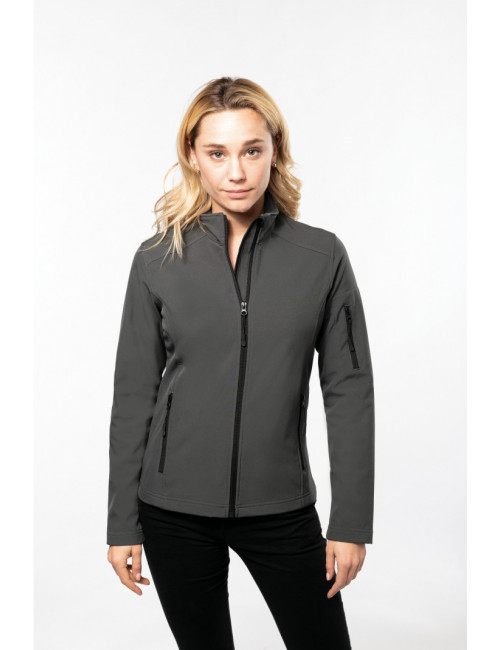 Women's Softshell Sleeveless Softshell Jacket (K404)