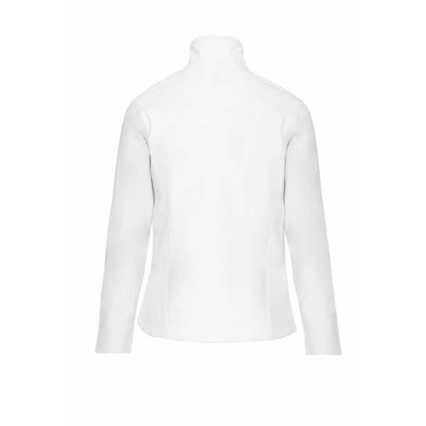 Doudoune Softshell manches longues Femme (K404) blanc dos