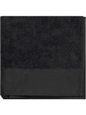 Serviette de toilette Bio, Kariban (K100) noir