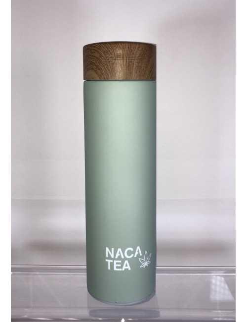 Blue thermo-infuser bottle, Nacatea (BTLNACA-BLU)
