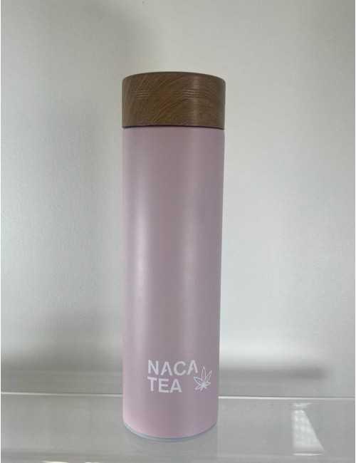 Green thermo-infuser bottle, Nacatea (BTLNACA-VRT)