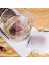 Pack de 100 Sachets jetables à remplir pour infusion, Nacatea (SACHNACA100) vue infusion