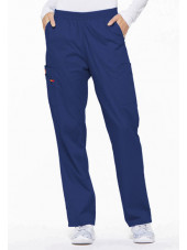 "Pantalon médical Unisexe élastique, Dickies, Collection ""EDS signature"" (86106) galaxie blue"