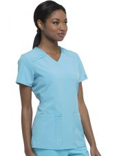 "Women's Medical Gown, Dickies, ""EDS Essentials"" (DK615)"