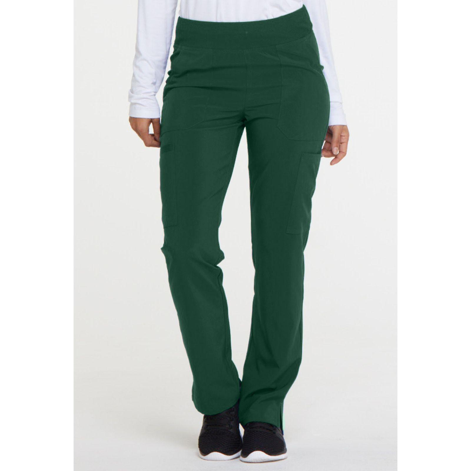 """Pantalon Médical Femme, Dickies, """"EDS Essentials"""" (DK005) vert face"""