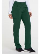 """Pantalon Médical Femme, Dickies, """"EDS Essentials"""" (DK005) vert dos"""