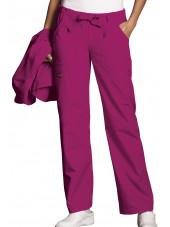 Women's Medical Pants Cord and Elastic, Cherokee Workwear Originals (4020)