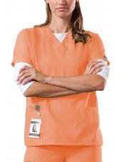 Women's Medical Gown, 2 pockets, Cherokee Workwear Originals (4700)