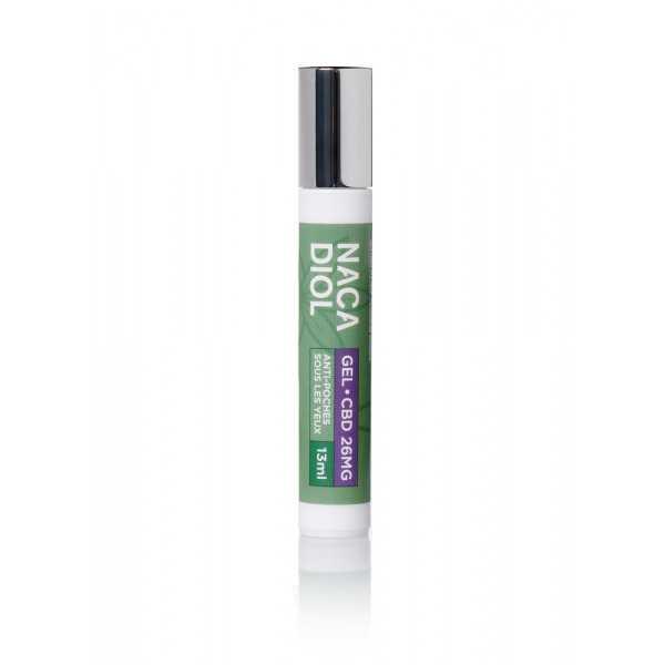 Roll-on anti-cernes au CBD, Nacadiol (ROLNACA) vue produit