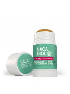 CBD Heating Balm, Nacadiol