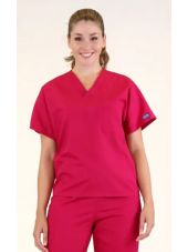 Blouse médicale Femme, 1 poche, Cherokee Workwear Originals (4777) rouge