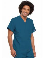 Blouse médicale Homme, 1 poche, Cherokee Workwear Originals (4777) caraibe gauche