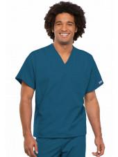 Blouse médicale Homme, 1 poche, Cherokee Workwear Originals (4777) caraibe face