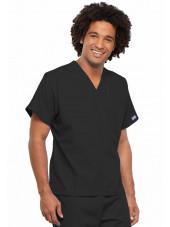 Blouse médicale Homme, 1 poche, Cherokee Workwear Originals (4777) noir droite