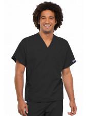 Blouse médicale Homme, 1 poche, Cherokee Workwear Originals (4777) noir face