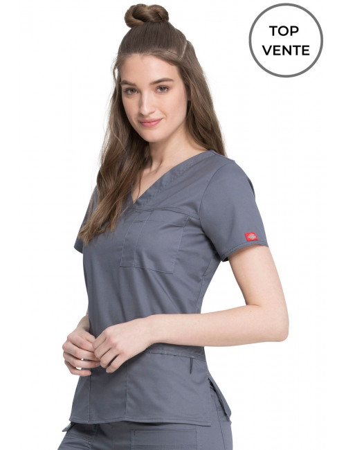 "Women's Medical Blouse, Dickies, ""GenFlex"" Collection (817455)"