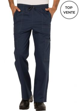 """Men's Medical Elastic and Drawstring Pants, Dickies, """"GenFlex"""" Collection (81003)"""