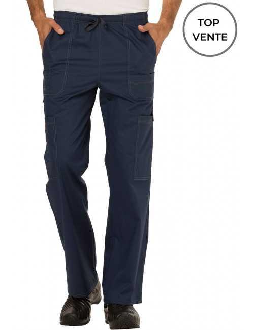 """Pantalon Médical élastique et cordon Homme, Dickies, Collection """"GenFlex"""" (81003) top"""