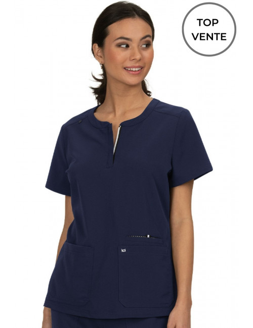 """Women's Koi Medical Gown """"Back to Action"""", Koi Next Gen Collection (1009)"""