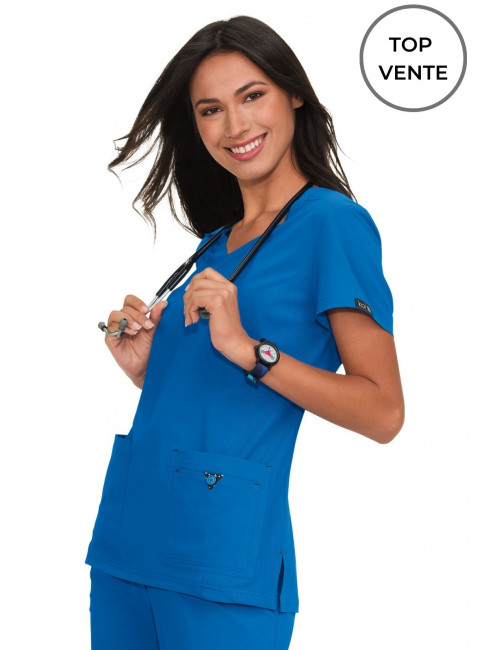"Blouse médicale Femme Koi ""Katie"", collection Koi Basics (374-) top"