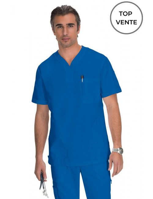 "Blouse médicale Homme Koi ""Jason"", collection Koi Classics (654-) top"