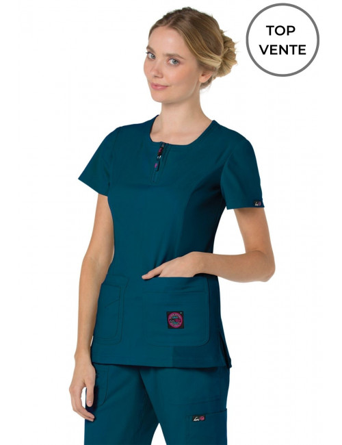"Koi Medical Gown Woman ""Serenity"", Koi Lite Collection (317-)"