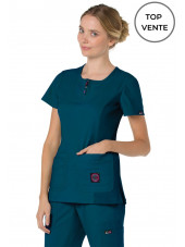 "Blouse médicale Femme Koi ""Serenity"", collection Koi Lite (317-) top"