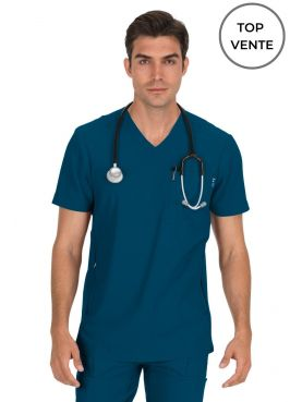 "Blouse médicale Homme Koi ""Force"", collection Koi Lite (667-) top"